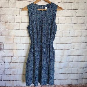 Gap Dress NWT, Sleeveless, Tie Waist, Pockets, M